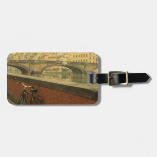 Old bridge in Florence, Italy Bag Tag