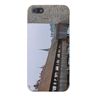 Old Bridge, Lucerne iPhone 5/5S Covers