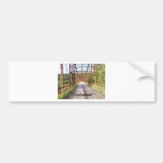 old bridge(oklahoma) bumper sticker