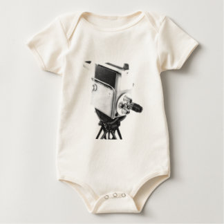 Old Broadcast TV Camera TK Baby Bodysuit
