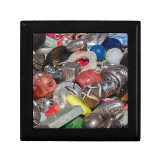 old buttons collection gift box