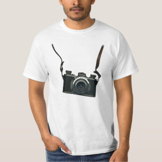 Old camera and straps T-Shirt
