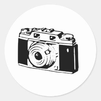 Old Camera Classic Round Sticker