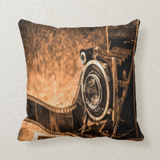 Old Camera Cushion