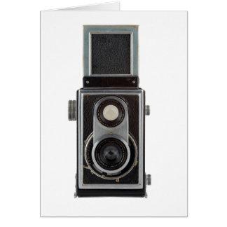 old camera greeting card
