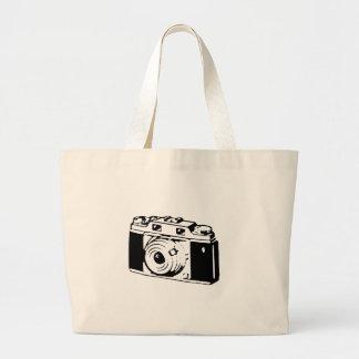 Old Camera Large Tote Bag