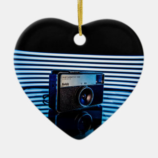 Old Camera:Modern Lighting Ceramic Heart Decoration