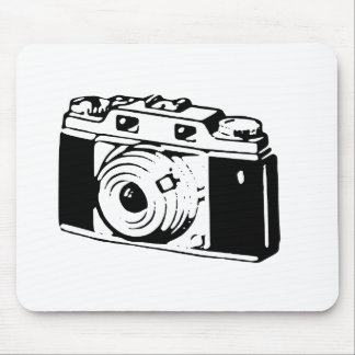 Old Camera Mouse Mat