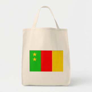 Old Cameroon Flag Canvas Bag