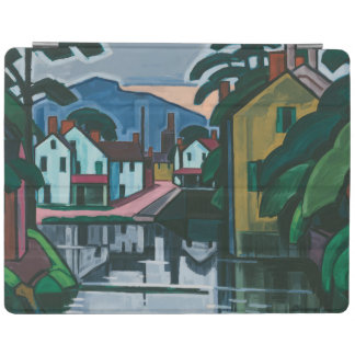 """""""Old Canal Port"""" art device covers iPad Cover"""