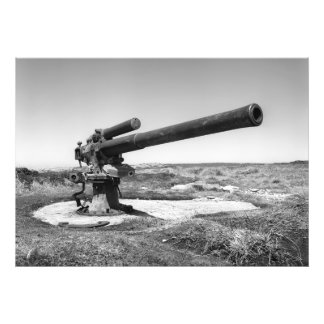 Old cannon photograph