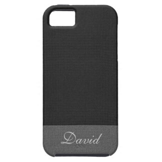 Old Canvas Effect iPhone 5 Case With Your Name