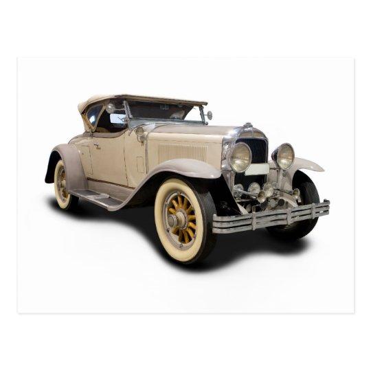 Old car 30 postcard