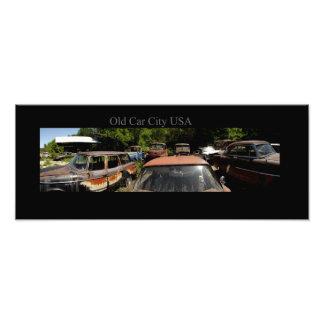 "Old Car City USA ""Front Lot"" Panoramic print Photo"
