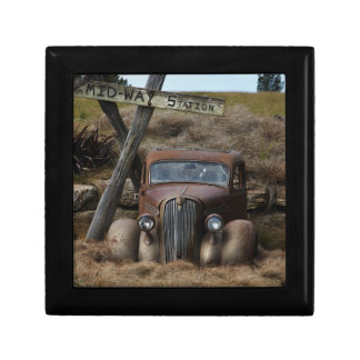 Old car gift box