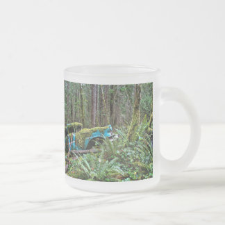 Old Car in the Forest Mugs