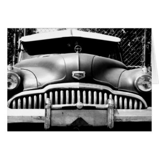 Old Car Photography Greeting Card