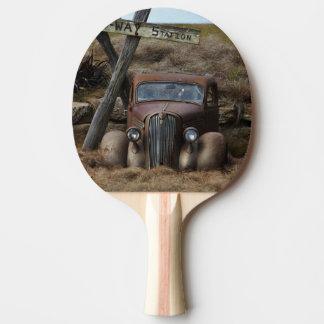 Old car ping pong paddle