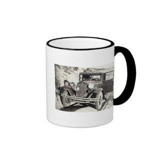 old car ringer mug