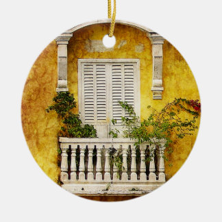 Old Cartagena Christmas Ornament