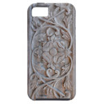 Old Carved Wood Door Scrollwork Case For The iPhone 5