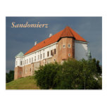 Old castle in Sandomierz. Poland Post Cards