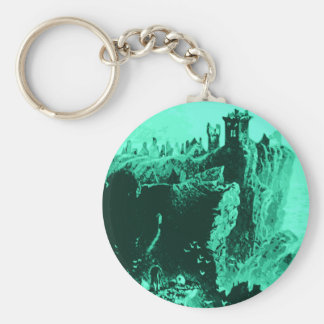 Old Castle Ruins Key Chains