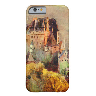 old castle watercolor painting, iPhone 6/6s case