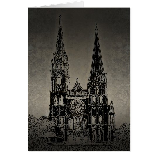 Old Cathedral Card