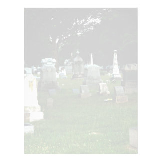 Old Cemetery 21.5 Cm X 28 Cm Flyer