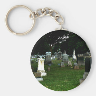 Old Cemetery Keychain