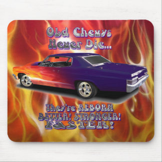 Old Chevys Never Die Mouse Mat