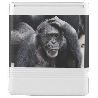 Old Chimpanzee custom cooler Igloo Cooler