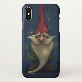 Old Christmas Gnome Zazzle iPhone X Case