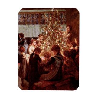 Old Christmas Rectangular Photo Magnet