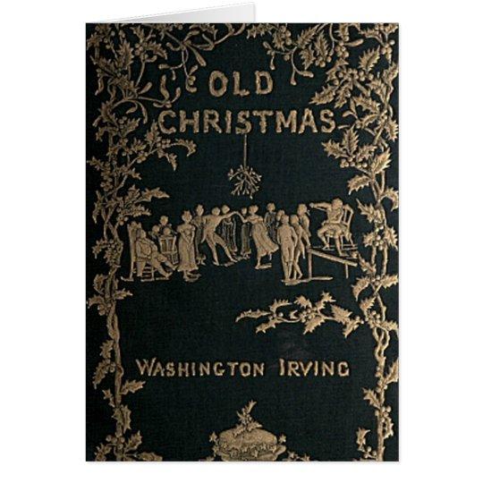 Old Christmas - Washington Irving Card