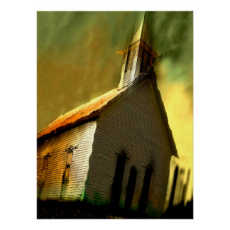 old church - Customized Poster