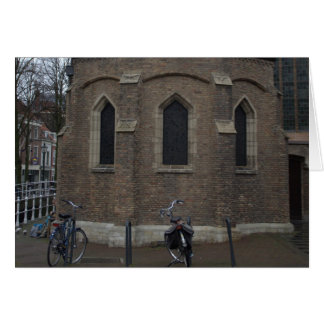 Old Church, Delft Greeting Card