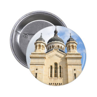 Old church in Cluj Napoca, Romania 6 Cm Round Badge
