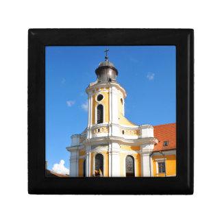 Old church in Cluj Napoca, Romania Gift Box