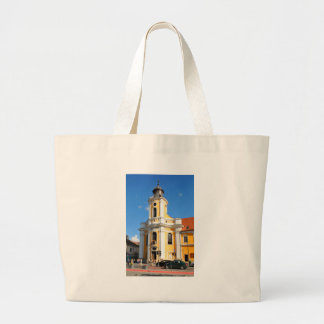 Old church in Cluj Napoca, Romania Large Tote Bag