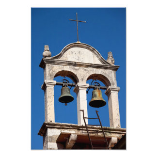 Old Church Twin Bells Photo