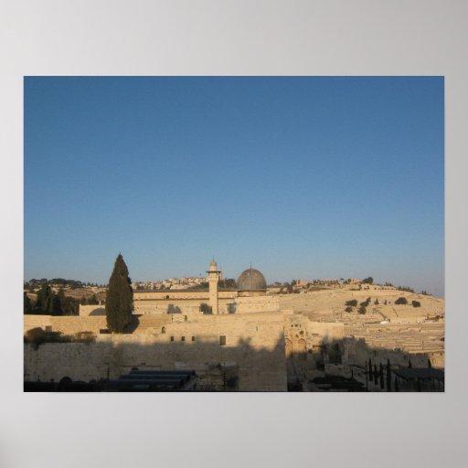 Old city Jerusalem Print