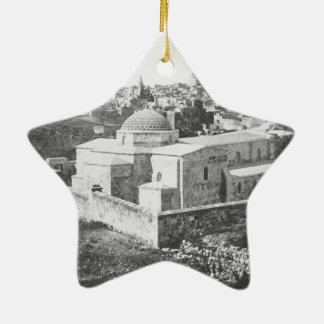 Old City of Jerusalem, ca. 1890 Christmas Ornament