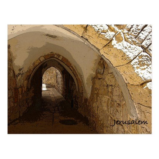 Old City of Jerusalem Postcard