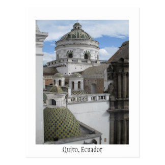 Old City Quito Ecuador Card Postcard