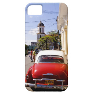 Old classic American auto in Guanabacoa a town iPhone 5 Cover