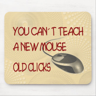 Old Clicks Mouse Pad