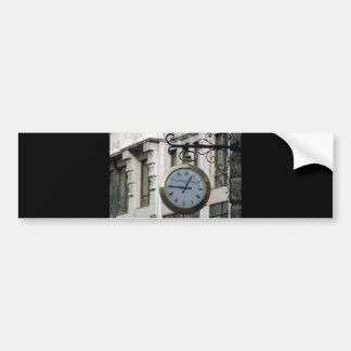 Old-clock-with-roman-letters OLD FASHIONED CLOCK R Bumper Sticker
