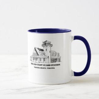 Old Coast Guard Station Logo Mug